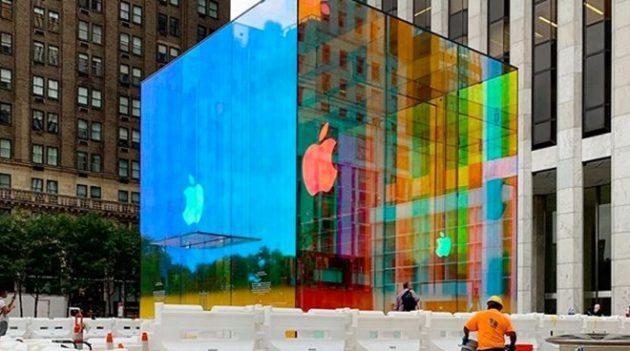 Apple Store Fifth Avenue di New York