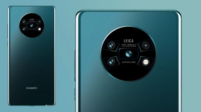 Presentazione Huawei Mate 30