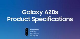 Aggiornamento Galaxy A20s