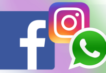 Facebook, Whatsapp ed Instagram