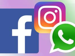 Facebook, Whatsapp ed Instagram