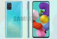 Nuovo aggiornamento Samsung Galaxy A51