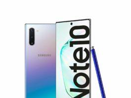 Aggiornamento Galaxy Note 10