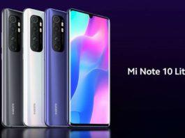 Aggiornamento Xiaomi Mi Note 10 Lite