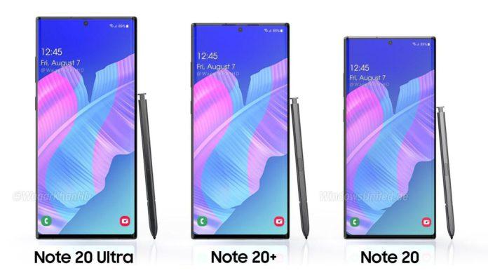 Prezzi Samsung Galaxy Note 20