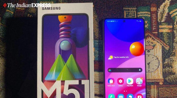Samsung Galaxy M51 aggiornamento