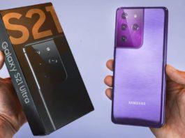 Galaxy S21 Ultra aggiornamento