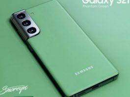 Colorazione Green Samsung Galaxy S21+ 5G