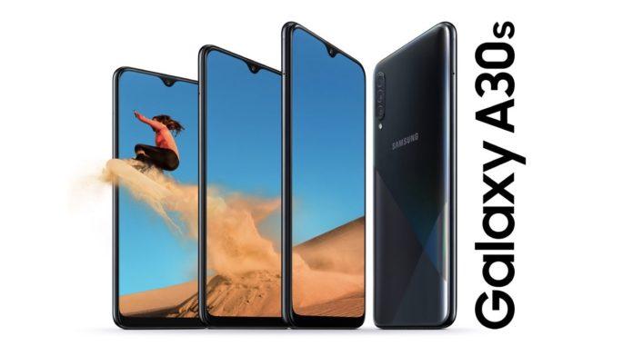 Aggiornamento Galaxy A30S